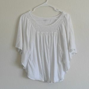 White loft soft shirt